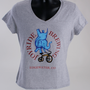Joyride Women's Grey T-Shirt