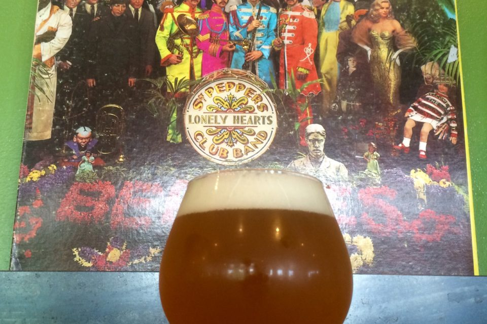 Sgt. Pepper's Kettle Soured Mango IPA - Joyride Brewing