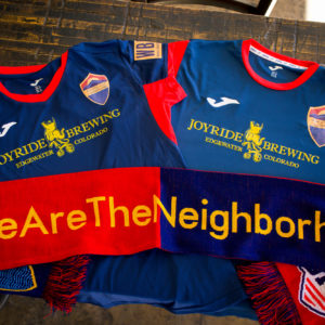 Athletic Club of Sloan's Lake Soccer Jerseys