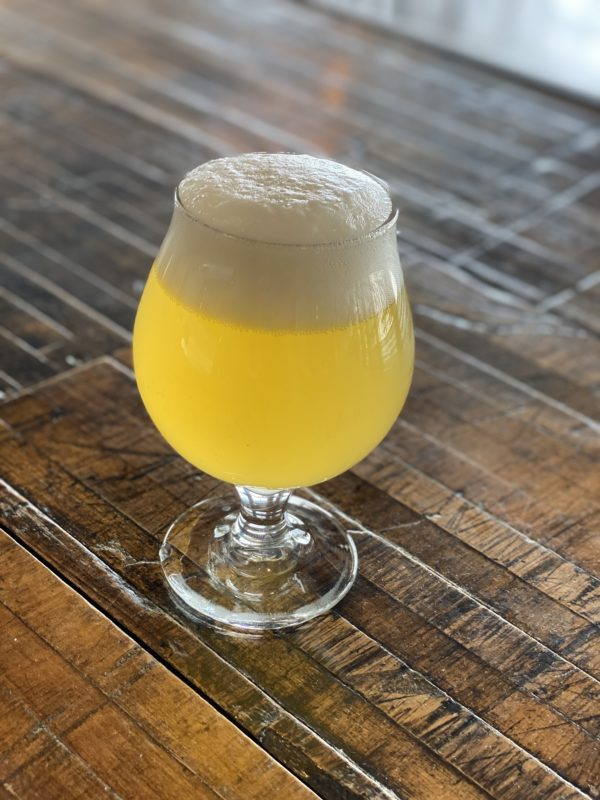 Picture of a Saison in a glass