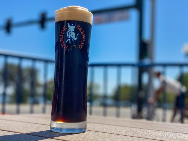 Picture of a schwarzbier in a glass